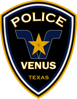 Venus Police Department Patch