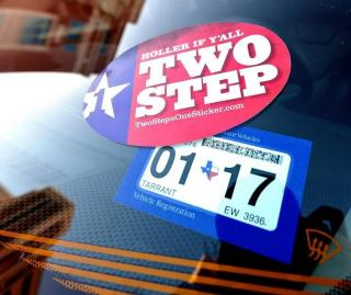 Picture of Vehicle Registration Sticker that is expired!